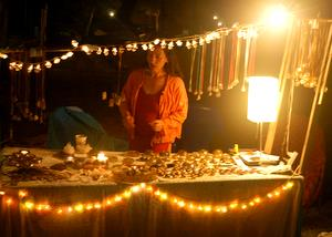 Lightstones Orgone Store at the Shakti Festival